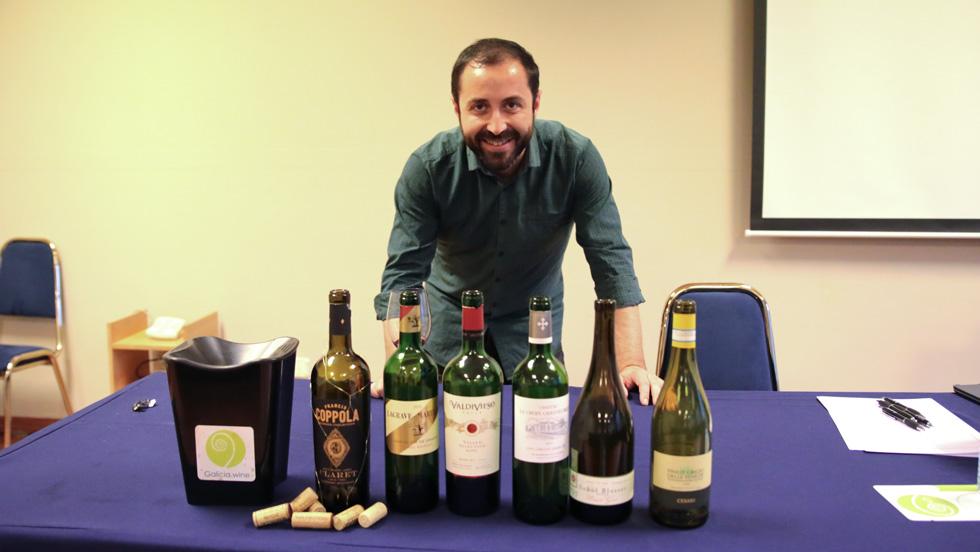 Aprendiendo de vino con Galicia Wine Academy